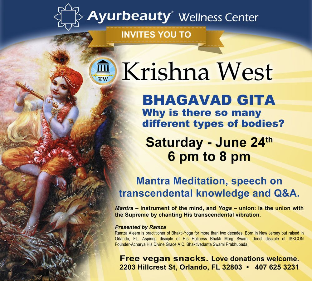 Bhakti Yoga Bhagavad Gita Why Is There So Many Different Types Of Bodies